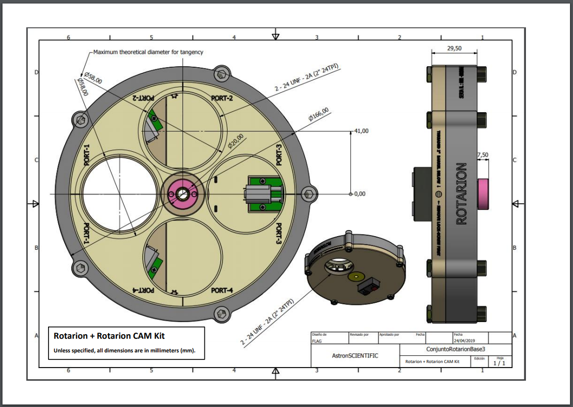 Rotarion + Rotarion CAM Kit (Mechanical Drawing)