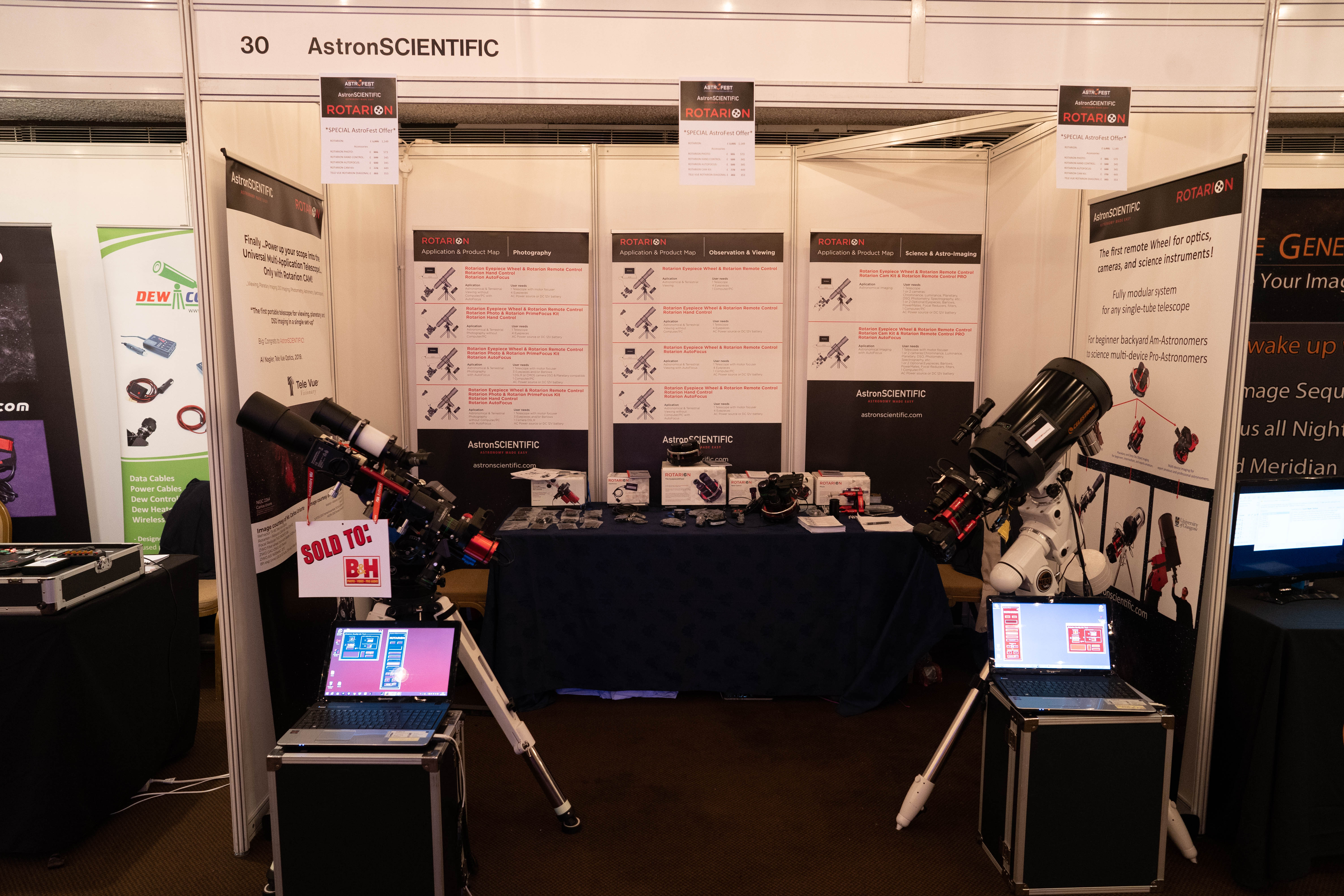 Booth AstroFest 2020